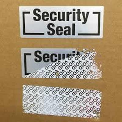 Güvenlik Etiketi - Kırılgan Etiket